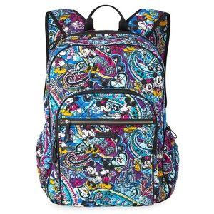 New Vera Bradley Mickey & Minnie Backpack